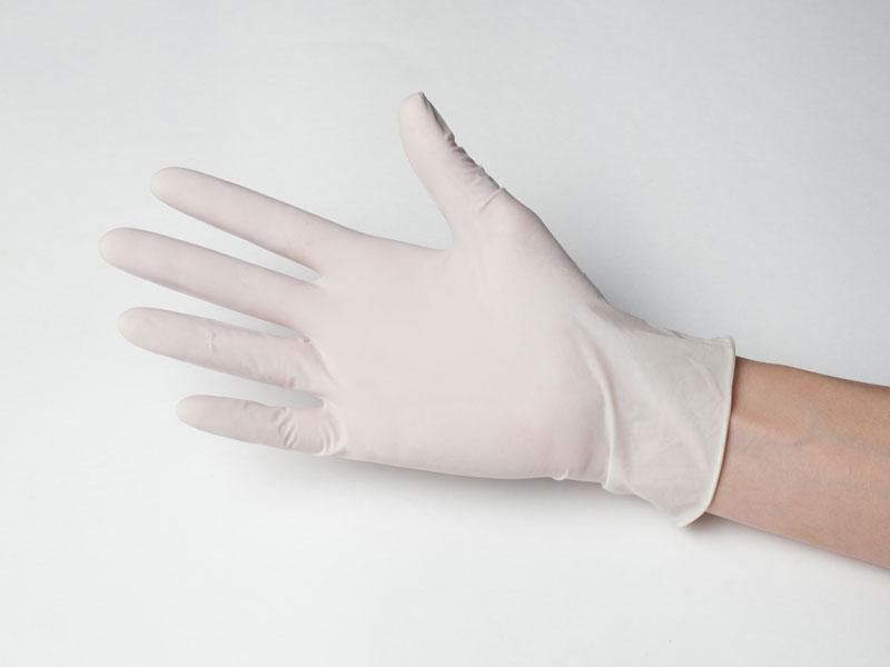 Перчатки латексные (опудренные), 100 штук , размер М