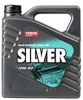 Моторное масло Teboil Silver SAE 10W-40 4 л