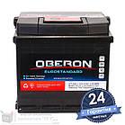 Аккумулятор автомобильный OBERON Eurostandard 6CT 50Ah, пусковой ток 420А [–|+], фото 2