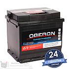 Аккумулятор автомобильный OBERON Eurostandard 6CT 50Ah, пусковой ток 420А [–|+], фото 3