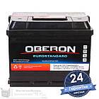 Аккумулятор автомобильный OBERON Eurostandard 6CT 60Ah, пусковой ток 540А [+|–], фото 2