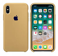 Накладка Apple Silicone Case iPhone X XS 5,8 HC Spanch Желтый