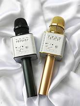 Безпровідний мікрофон караоке - bluetooth колонка Q9 - 2in1. +ПОДАРУНОК Чохол