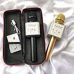 Беспроводной караоке микрофон - bluetooth колонка Q9 - 2in1. +ПОДАРОК Чехол, фото 4