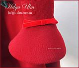 """Тепла Святкова сукня """"Різдвяна зірка"""" для дівчинки 110, фото 4"""