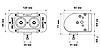"""Светодиодная балка рабочего света ProLight ST 5"""" 20Вт (рассеянный луч), фото 6"""