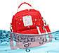 """Мини рюкзак Lagaffe 1088 """"To Youth"""" из эко ткани с водоотталкивающими свойствами и 6 карманами, 5л, фото 5"""