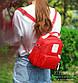 """Мини рюкзак Lagaffe 1088 """"To Youth"""" из эко ткани с водоотталкивающими свойствами и 6 карманами, 5л, фото 4"""