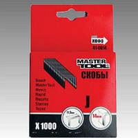 Скобы мягкие, 12 мм, (1000шт.), MasterTool