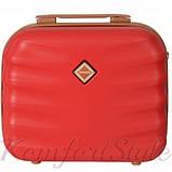 Набор дорожных чемоданов Bonro Next  5 штук бордовый (10060504), фото 6