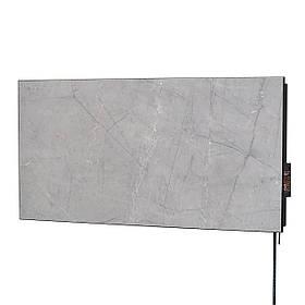 Керамическая отопительная панель FLYME 600P (серый мрамор) с программатором