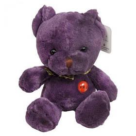 """Мягкая игрушка """"Медведь"""", 25 см (фиолетовый)  sco"""