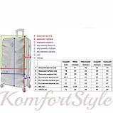 Набор дорожных чемоданов Bonro Next  5 штук бордовый (10060504), фото 9