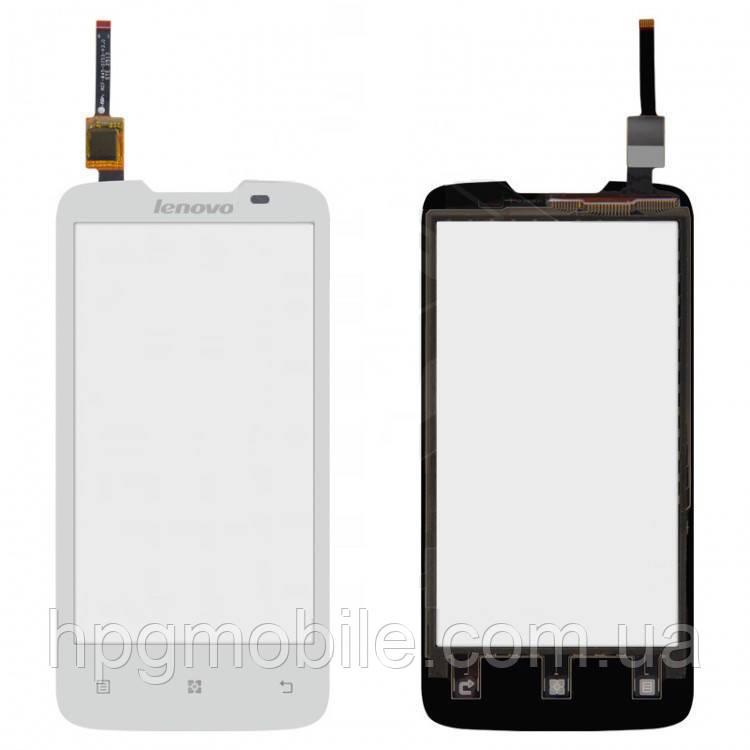 Сенсорный экран для Lenovo A820, белый, оригинал