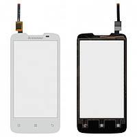 Touchscreen (сенсорный экран) для Lenovo A820, оригинал (белый)