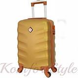 Набор дорожных чемоданов Bonro Next  5 штук золотой (10060502), фото 3