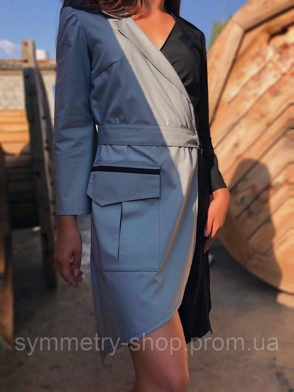 Халат-платье H011
