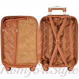 Набор дорожных чемоданов Bonro Next  5 штук золотой (10060502), фото 5