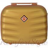 Набор дорожных чемоданов Bonro Next  5 штук золотой (10060502), фото 6