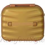 Набор дорожных чемоданов Bonro Next  5 штук золотой (10060502), фото 7