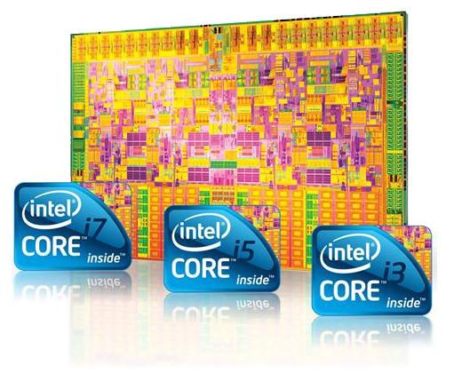 Core i3 core i5 core i7