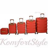 Набор дорожных чемоданов Bonro Next  5 штук красный (10060505), фото 2