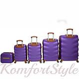 Набор дорожных чемоданов Bonro Next  5 штук фиолетовый (10060503), фото 2