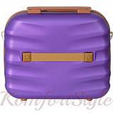 Набор дорожных чемоданов Bonro Next  5 штук фиолетовый (10060503), фото 7