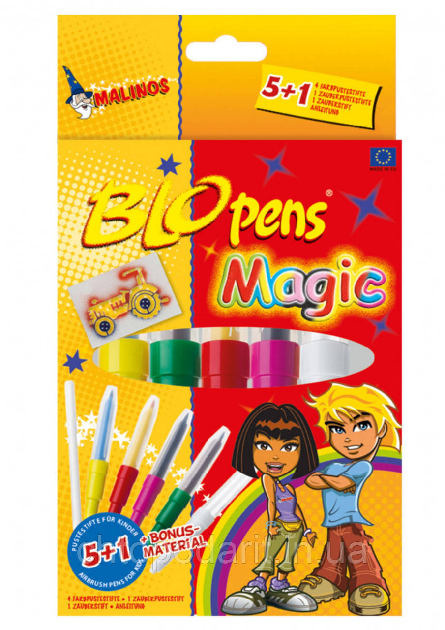 Волшебные фломастеры MALINOS BLOpens Magic 5+2 Код 10-0898