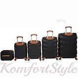 Набор дорожных чемоданов Bonro Next  5 штук черный (10060500), фото 2
