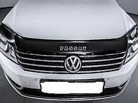 Мухобойка, дефлектор капота Volkswagen B-7 2010 (Vip tuning)