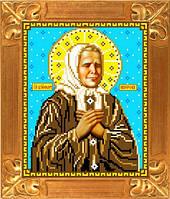 Схема для вышивки икона Св. Матрона Московская