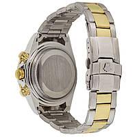 Наручные часы Rolex Daytona Quartz Date Silver-Gold-White, фото 2
