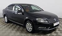 Дефлекторы окон Volkswagen Passat B7 sedan 2010 Anv-Air Ветровики фольксваген пассат б7