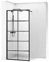 Душова стінка 8мм BLER-1 BLACK 70x195, фото 1