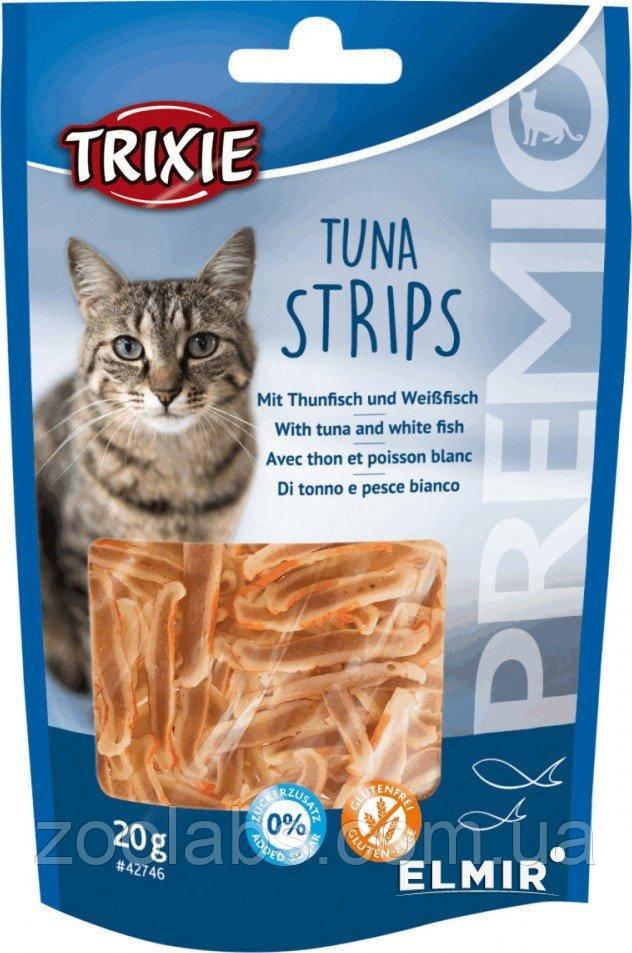 Лакомство Trixie для кошек с мясом тунца   Trixie Premio Tuna Strips 20 грамм