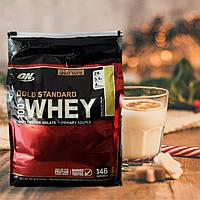Сывороточный протеин изолят Optimum Nutrition 100% Whey Gold Standard 4.5 kg оригинал!ОН Вей голд