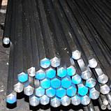 Шестигранник стальной горячекатанный № 19 мм ст. 20, 35, 45, 40Х длина от 3 до 6 м, фото 2