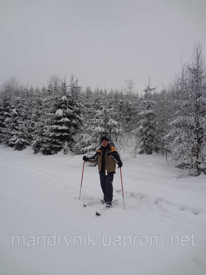 На лижах до Джуринського водопаду