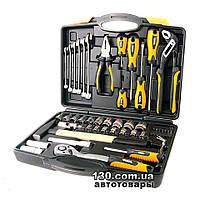 """Автомобильный набор инструментов MasterTool 78-5156 CrV 1/4"""", 1/2"""" — 56 предметов, кейс"""
