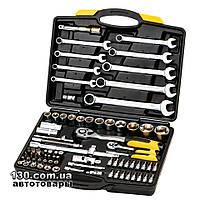 """Автомобильный набор инструментов MasterTool 78-5182 PROFI 1/4"""", 1/2"""" — 82 предмета, кейс"""