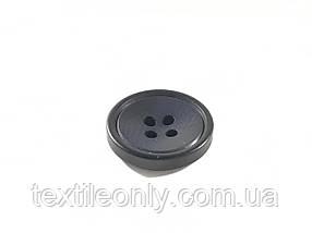 Пуговицы круглые цвет черный 17 мм