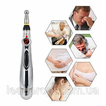 [ОПТ] Электронная акупунктурная ручка. Массажер в форме ручки massager PEN