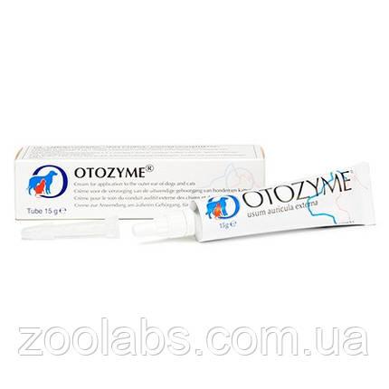 Вушної крем Otozyme для кішок 15 грам, фото 2
