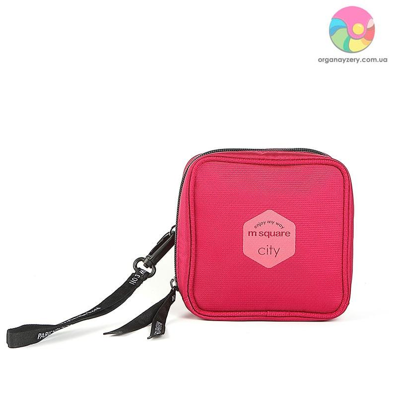 Сумочка для дрібниць M Square (рожевий)