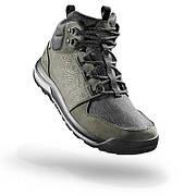 Ботинки мужские кожаные Quechua NH500 MID HIKING непромокаемые 43р