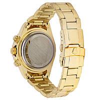Наручные часы Rolex Daytona Quartz Date Gold-Black, фото 2