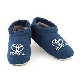 Домашние тапочки комфорты Тойота синие багира