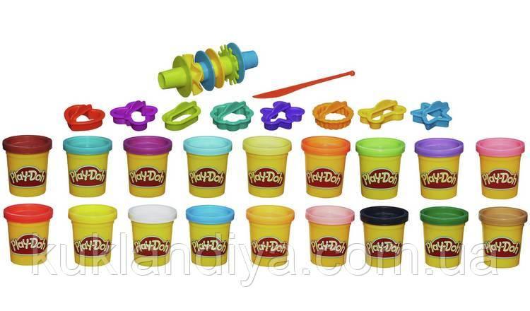 Набор Play-Doh Super Colour Kit от Hasbro