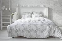 Комплект постельного белья Сатин АЖУР Набор постельного белья полутороспальный, евро, двуспальный